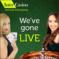 InterCasino Introduces Live Dealers