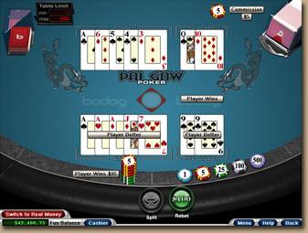 pai gow poker free bodog