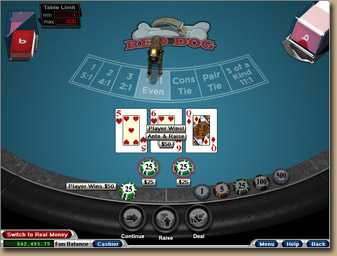 acey deucey card game free online