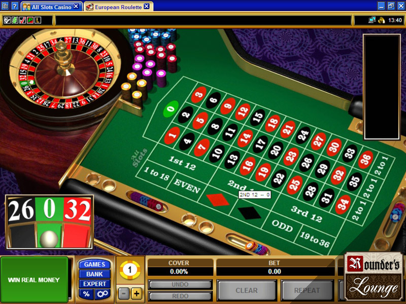 slot online european roulette play