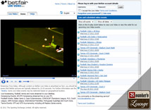 Betfair Sportsbook Live Video