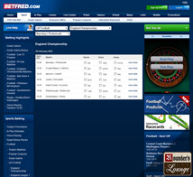 Betfred Sportsbook Football Betting