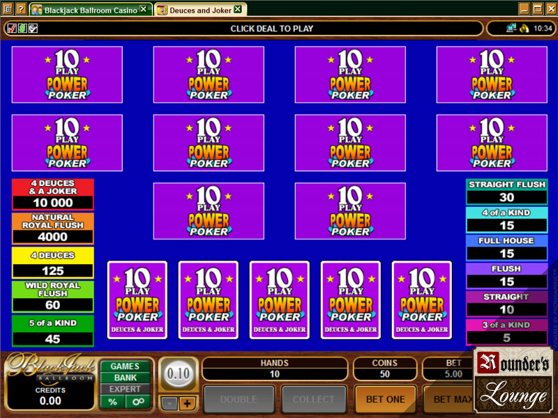 mansion online casino poker joker