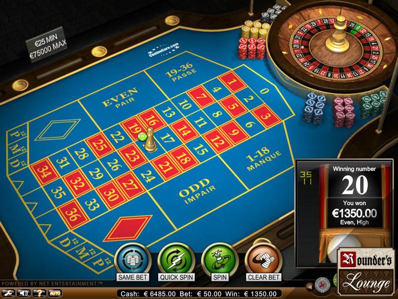euro casino roulette