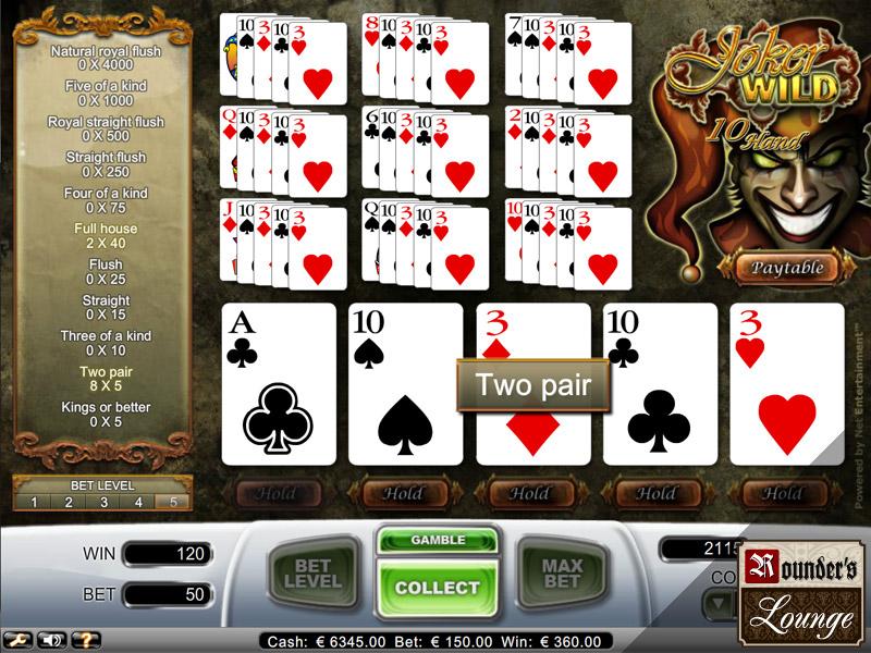 casinoeuro poker