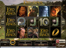 Jackpot City Lord of the Rings Slot Machine