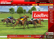 Ladbrokes Games Virtual Horses