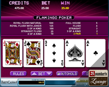 Party Casino Video Poker