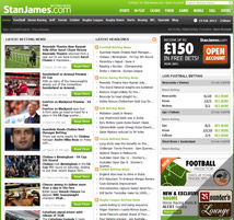 Stan James Sportsbook Betting News Page