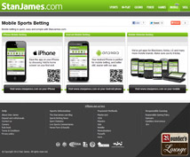 Stan James Sportsbook Mobile Betting