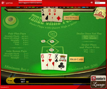 Virgin Casino 3 Card Poker