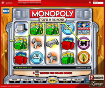 Virgin Casino Monopoly Slots
