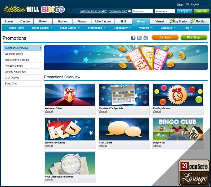 online william hill casino bingo online spielen