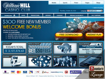 William Hill Casino Front Page