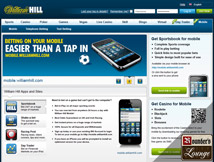 William Hill Sportsbook Mobile Betting