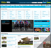 William Hill Sportsbook News Page