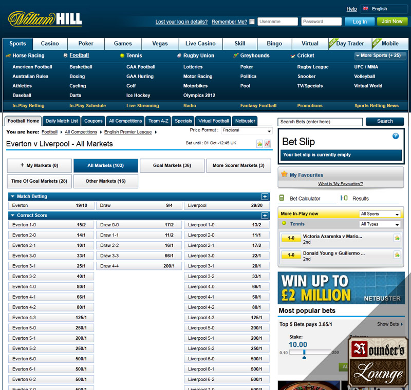 online casino william hill american poker online