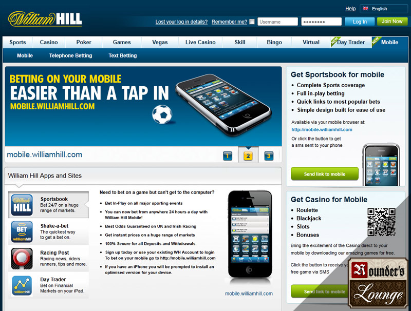 william hill slots app