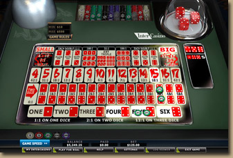 online casino table games dice roll online